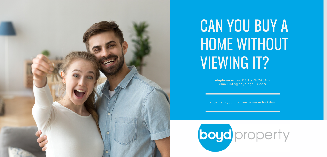 Buying a property without an in-person viewing