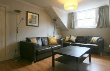 Queensferry St - Living room 2