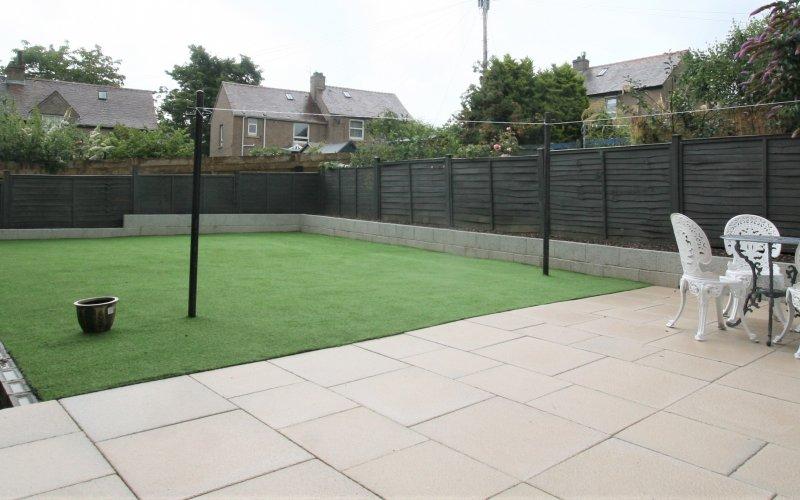 Clermiston - Back garden