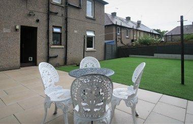 Clermiston - Back garden 2